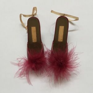 High Heel Mule Fashion Ornaments (Set of 2)